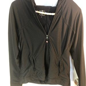 Lululemon zip up size 10 black hoodie